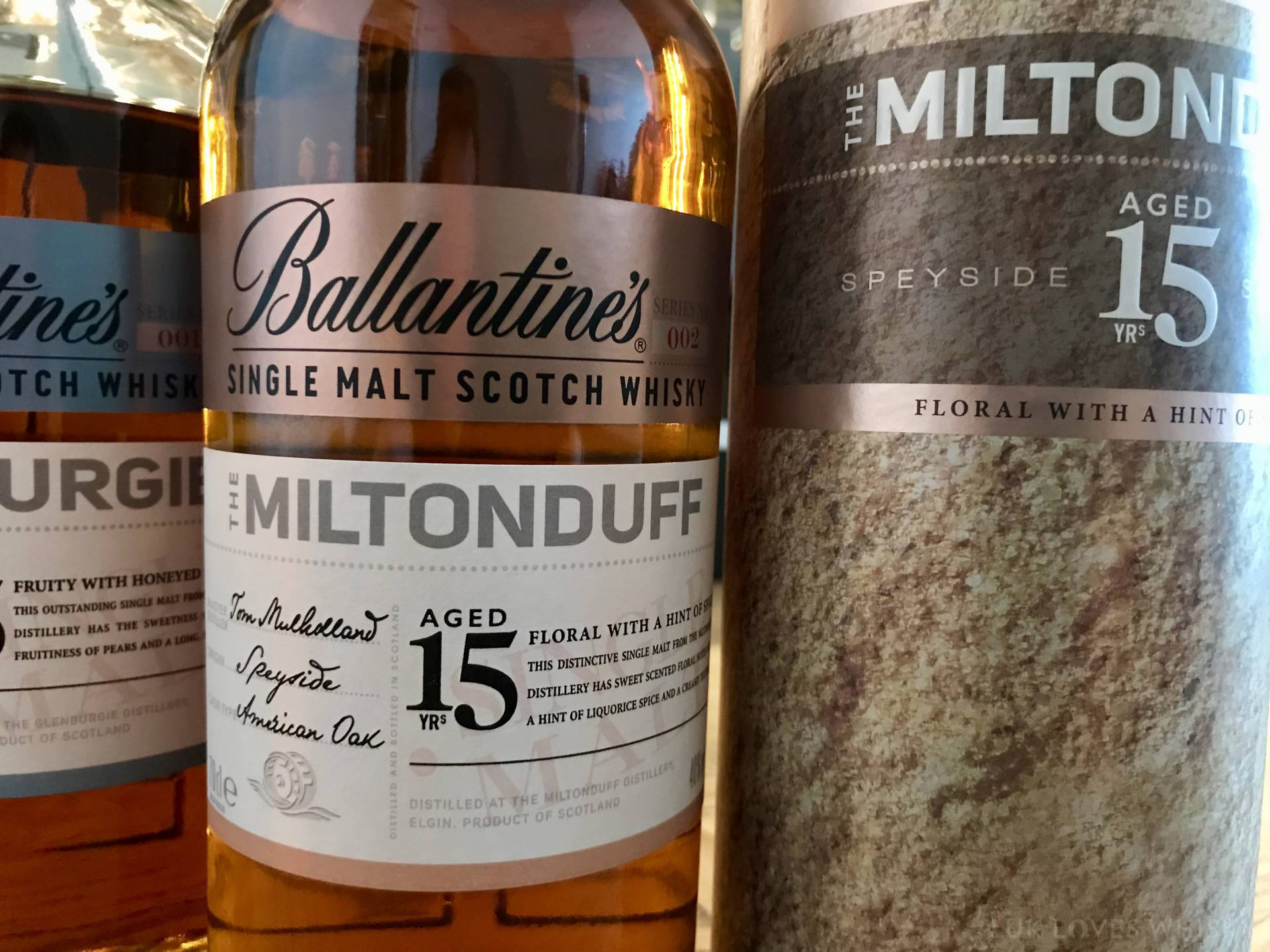 Ballantines Single Malt Scotch Whisky